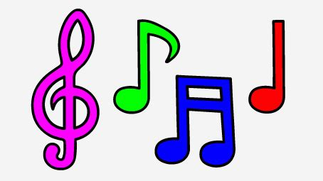 i love house music symbols cartoon music notes and symbols