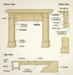 marvelous fireplace mantel plans 5 diy fireplace surround