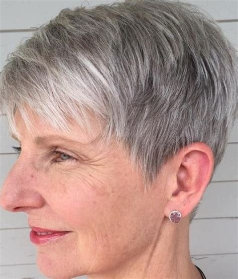 pixie haircuts for women over 50 fron the back 15 short hairstyles for women over 50
