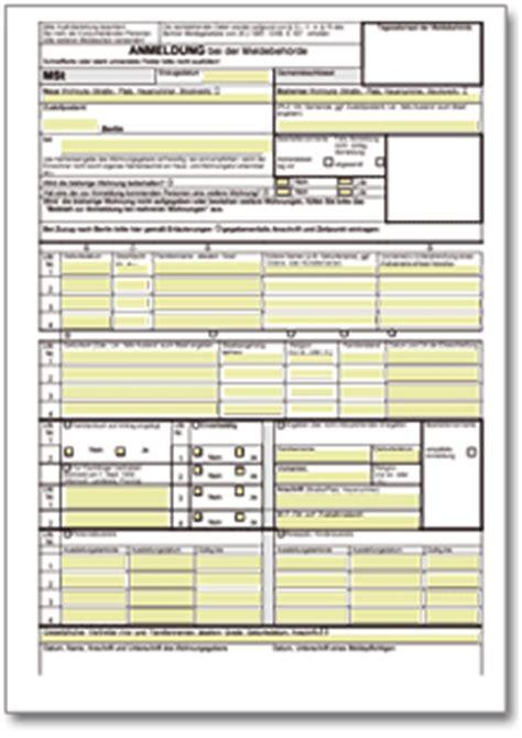 wohnung anmeldung anmeldung bei der meldestelle berlin de formular