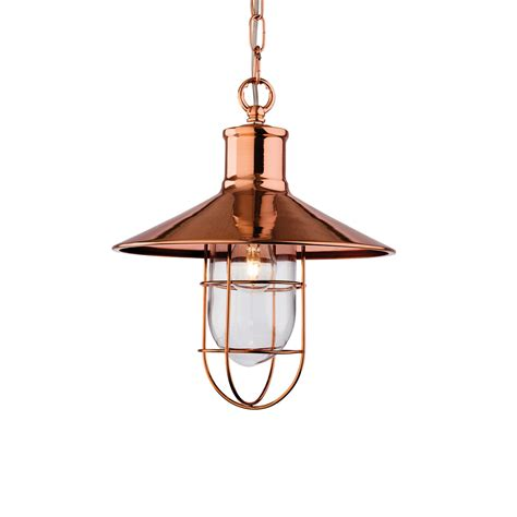 firstlight 2306cp crescent copper ceiling pendant