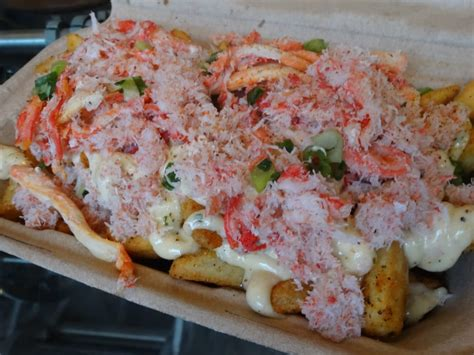 southern comfort kitchen crab fries at off the grid fort mason yelp