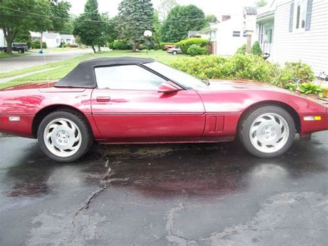 automobile air conditioning service 1989 chevrolet corvette electronic valve timing find used 1989 chevy corvette convertible in saugus massachusetts united states for us 8 900 00