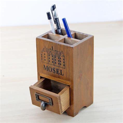Tempat Pensil Pencil Pripara 1 desktop wooden boxes decorative storage container boxes pencil vase jewellery drawer storage