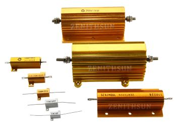 power resistor load resistor wirewound resistor power resistor braking resistor load resistor high voltage resistor
