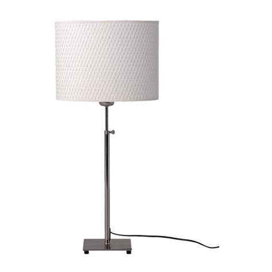 ikea bedroom lighting al 196 ng table l nickel plated white ikea