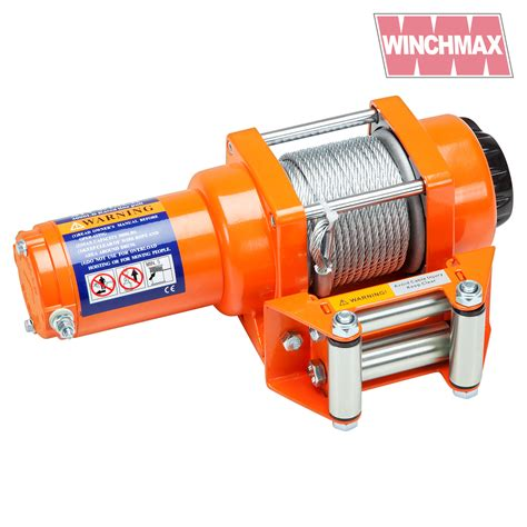 boat trailer winch wire electric winch 12v atv boat trailer 3000 lb winchmax