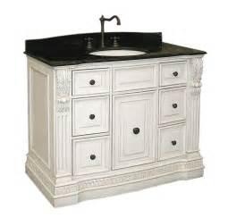 Home gt bath gt bathroom vanities gt antique white vanity cabinet