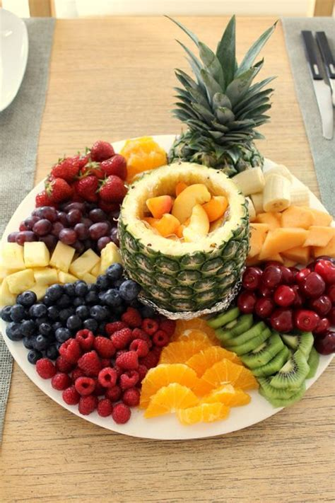 fruit platter fruit tray