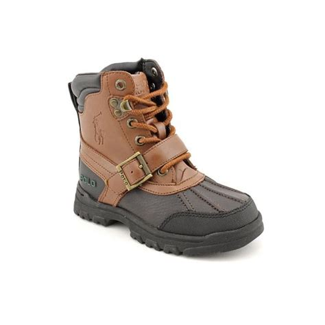boys polo boots polo ralph boy s country boot leather boots