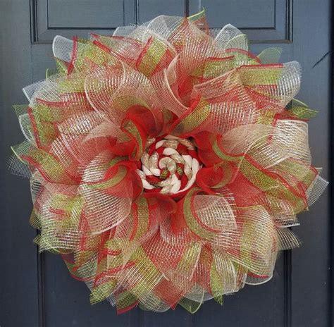 paper mesh flower wreath tutorial 361 best wreaths images on pinterest