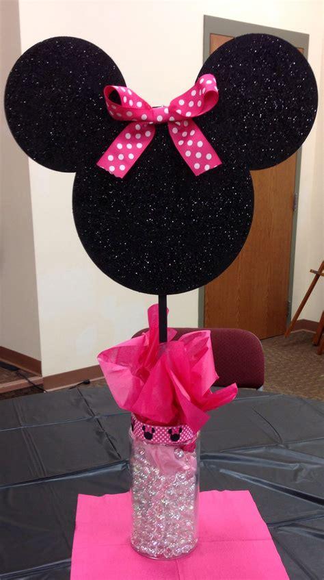 Ee  Minnie Ee    Ee  Mouse Ee   Centerpieces First  Ee  Birthday Ee   De Ions