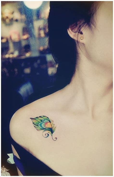small chest tattoos for girls small feather designs for on chest feather