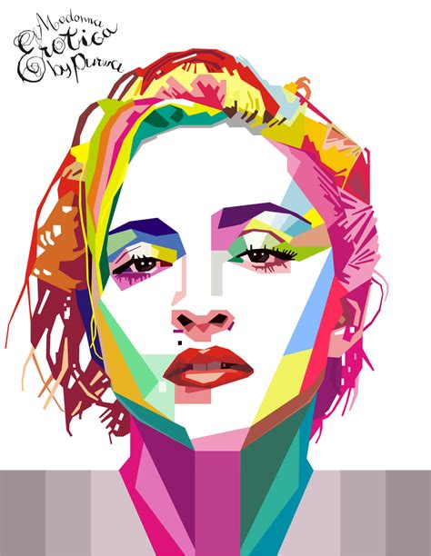 tutorial edit foto wajah warna warni wpap atau seni pop art berasal dari indonesia design art