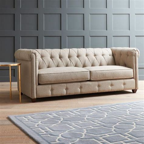 rolled arm tufted sofa rolled arm tufted sofa tufted rolled arm sofa 79 in
