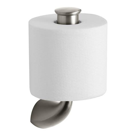 paper holder kohler alteo single post toilet paper holder in vibrant
