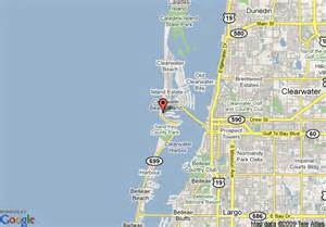 map of clearwater florida and surrounding areas map of travelodge clearwater fl clearwater