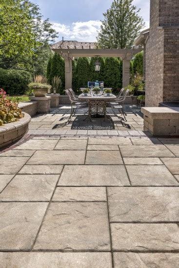 beacon hill flagstone paver patio photos