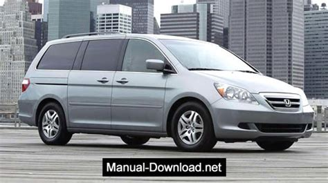 car owners manuals free downloads 2006 honda odyssey parental controls honda odyssey 2005 2006 service repair manual download instant manual download