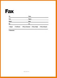 Fax Resume Cover Letter by 4 Free Fax Cover Letter Teknoswitch
