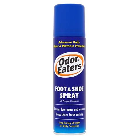 shoe odor spray odor eaters foot and shoe spray 150ml groceries tesco