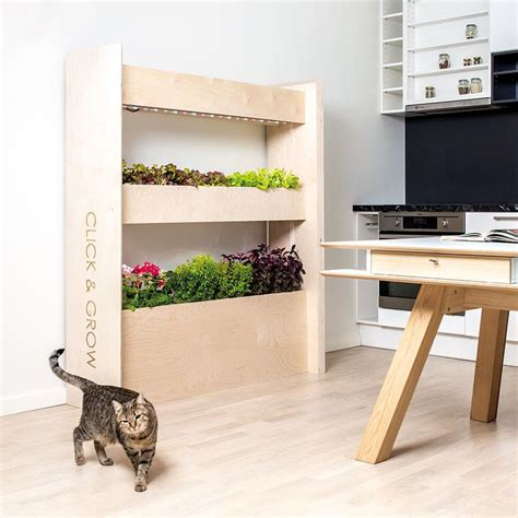 wall farm mini indoor vertical garden click grow