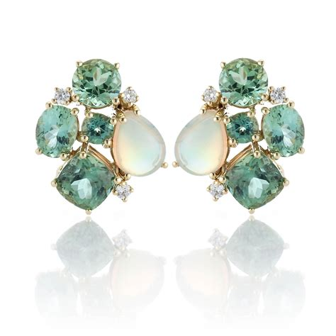 tourmaline opal gump s tourmaline opal earrings gump s