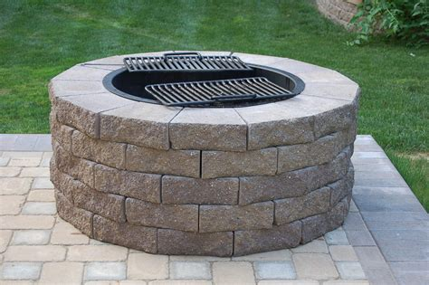 pit cooking grate fireplace design ideas