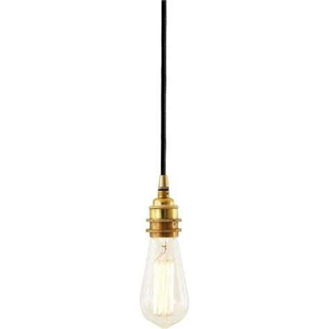 Bare Bulb Pendant Light Minimalist Bare Bulb Pendant Light Fitting On Vintage Braided Cable