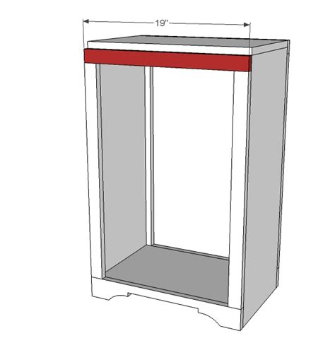 Kitchen Trash Can Cabinet Plans Ask Home Design