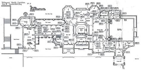 biltmore house floor plan biltmore house 1st floor blueprint biltmore estate