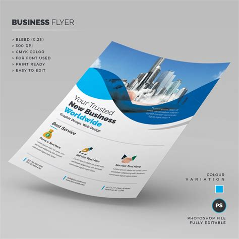 Photoshop Corporate Business Flyer 000227 Template Catalog Photoshop Flyer Templates Business