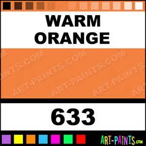 warm orange color warm orange artists watercolor paints 633 warm orange