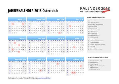 Kalender 2018 Schulferien Deutschland Kalender 2018 214 Sterreich Feiertage Ferien Kw