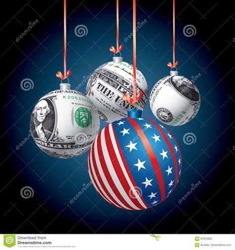 patriot dollar balls vector illustration cartoondealer