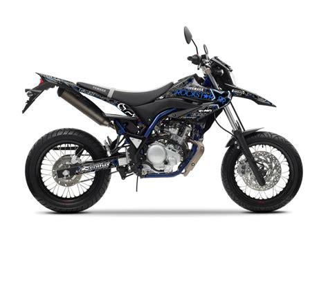 dekor moped yamaha wr 125 r x rockstar fox graphics series tmx