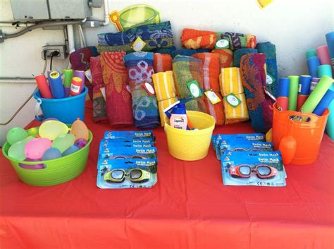 Pool Party Giveaways - pool party party favors party ideas pinterest