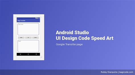 android studio layout youtube google translite page android studio ui design speed art
