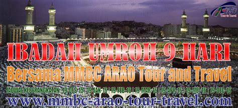 Peluang Keagenan Tourtravel Bersama Mmbc mmbc arao tour and travel tiket pesawat