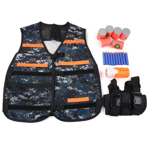 Nerf Bullet Elite By Berzet elite tactical bullet vest kit set for nerf n strike elite