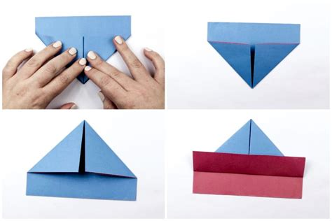 Step By Step Origami Boat - easy origami boat