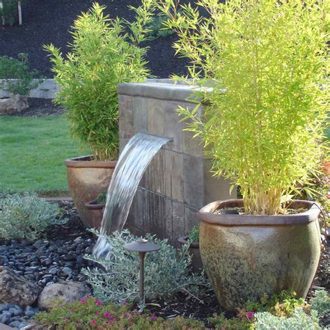 backyard water feature ideas gardening landscaping fresh garden water feature