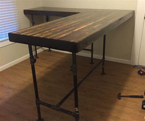 diy custom standing desk