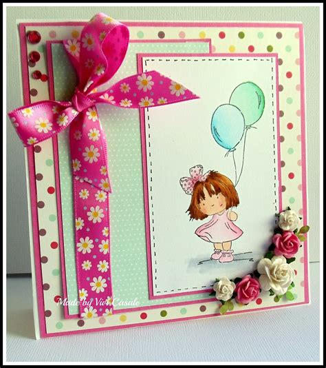 Handmade Birthday Cards - flower style handmade birthday cards for trendy mods