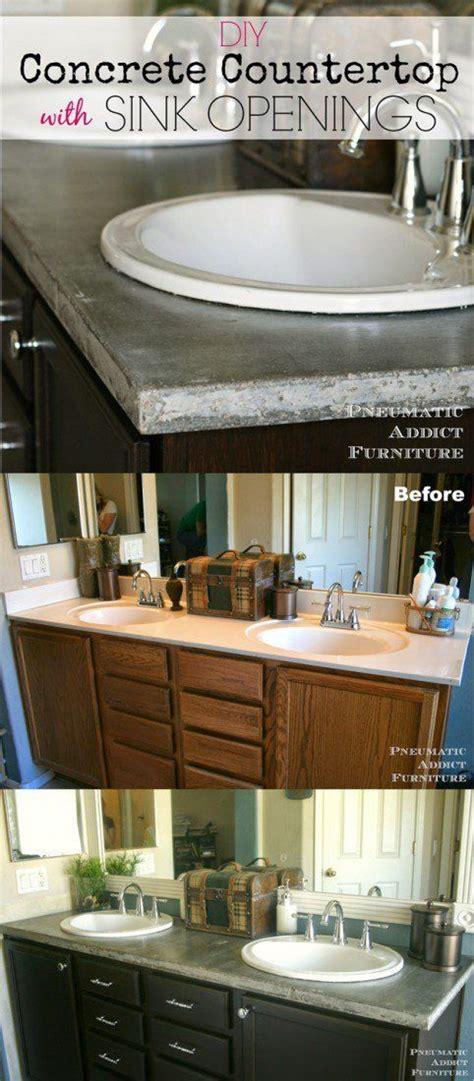 bathroom countertops cheap best 25 cheap bathroom makeover ideas on pinterest wood