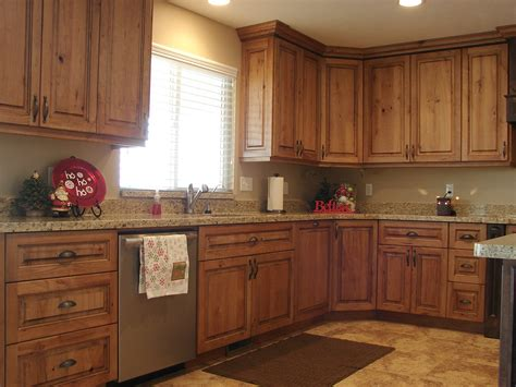 Cherry Cabinets Kitchen Pictures by Lec Cabinets Rustic Cherry Cabinets
