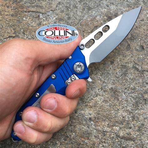 Nano 3tone 668 guardian tactical use helix nano two tone satin blue knife