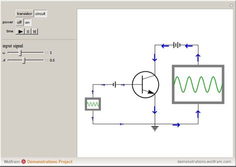 bipolar transistor animation wolfram demonstrations project