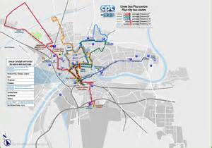 Bus Routes Map by Pisa Bus Routes Map