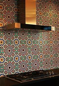 Moroccan Tile Kitchen Backsplash Moroccan Tile Backsplash Add The Charm Of The